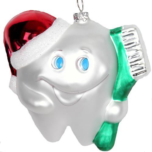 Елочная игрушка для стоматолога 2