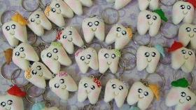 Брелок - зуб