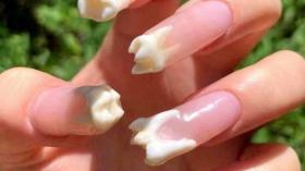 Зубной маникюр