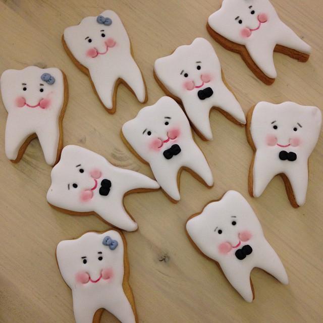 Печенье для стоматолога 46