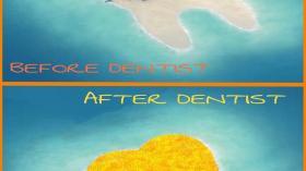 Остров после отпуска стоматолога