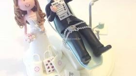 Свадебный торт стоматологов 3