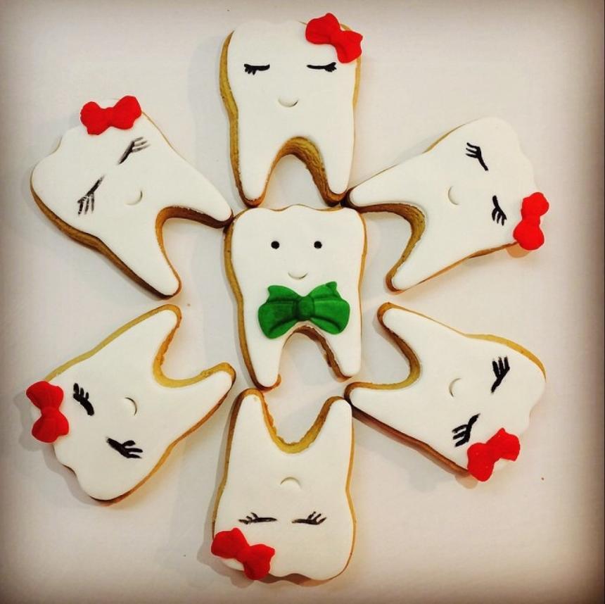 Печенье для стоматолога 16