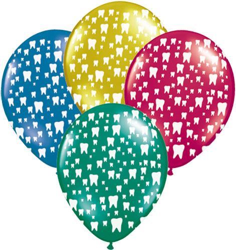 Воздушный шарик для стоматолога