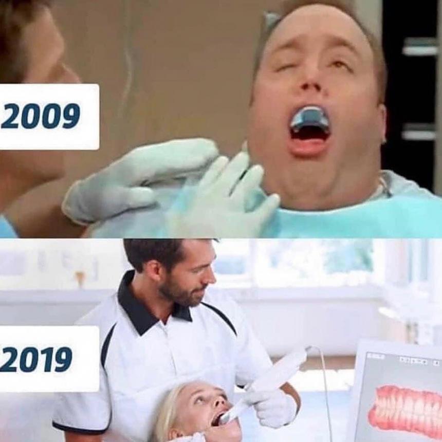 Прогресс в стоматологии