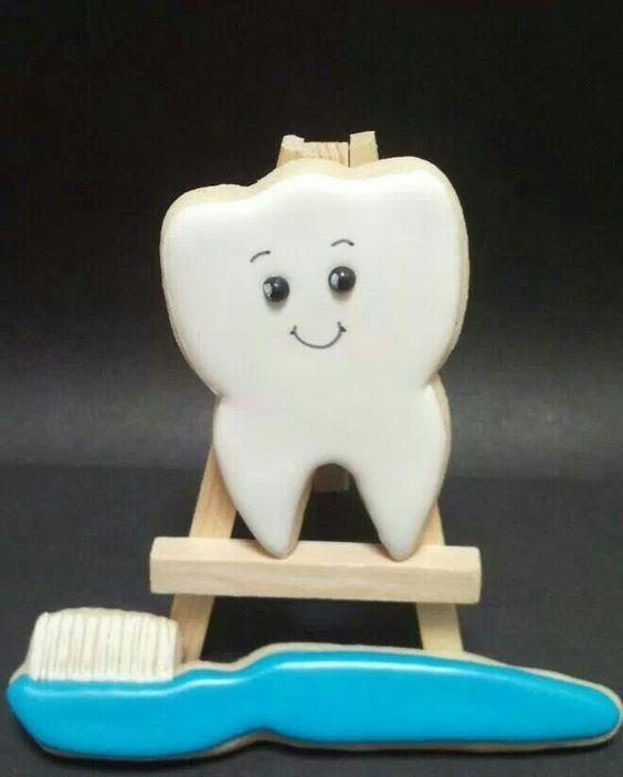 Печенье для стоматолога 35