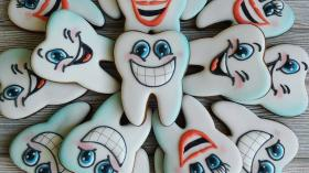 Печенье для стоматолога 43