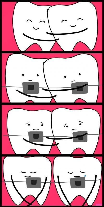 Дружбу зубов разрушил ортодонт