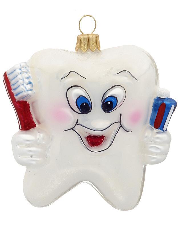 Елочная игрушка для стоматолога 10