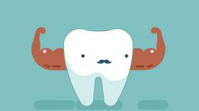 Зуб - силач