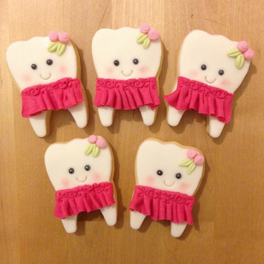 Печенье для стоматолога 21