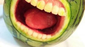 Арбузная полость рта 3