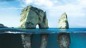 Голубиные скалы (Бейрут, Ливан)