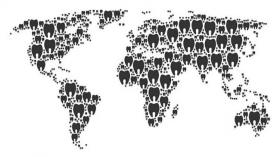 Зубная карта мира