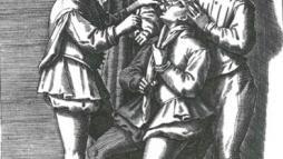 1584 г., Италия, офорт