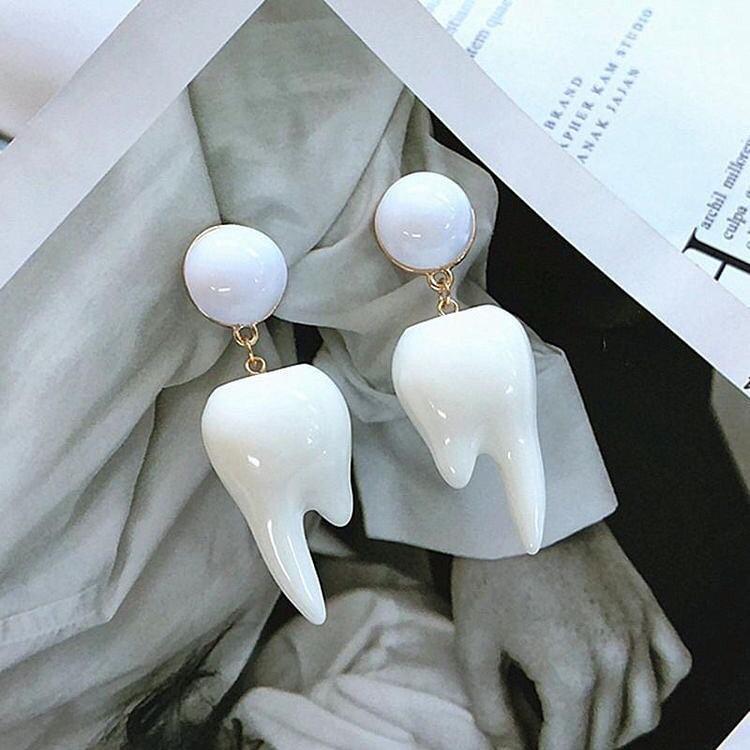 Серьги стоматолога 6