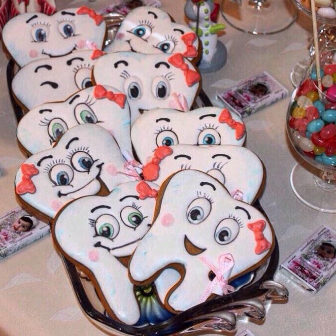 Печенье для стоматолога 36