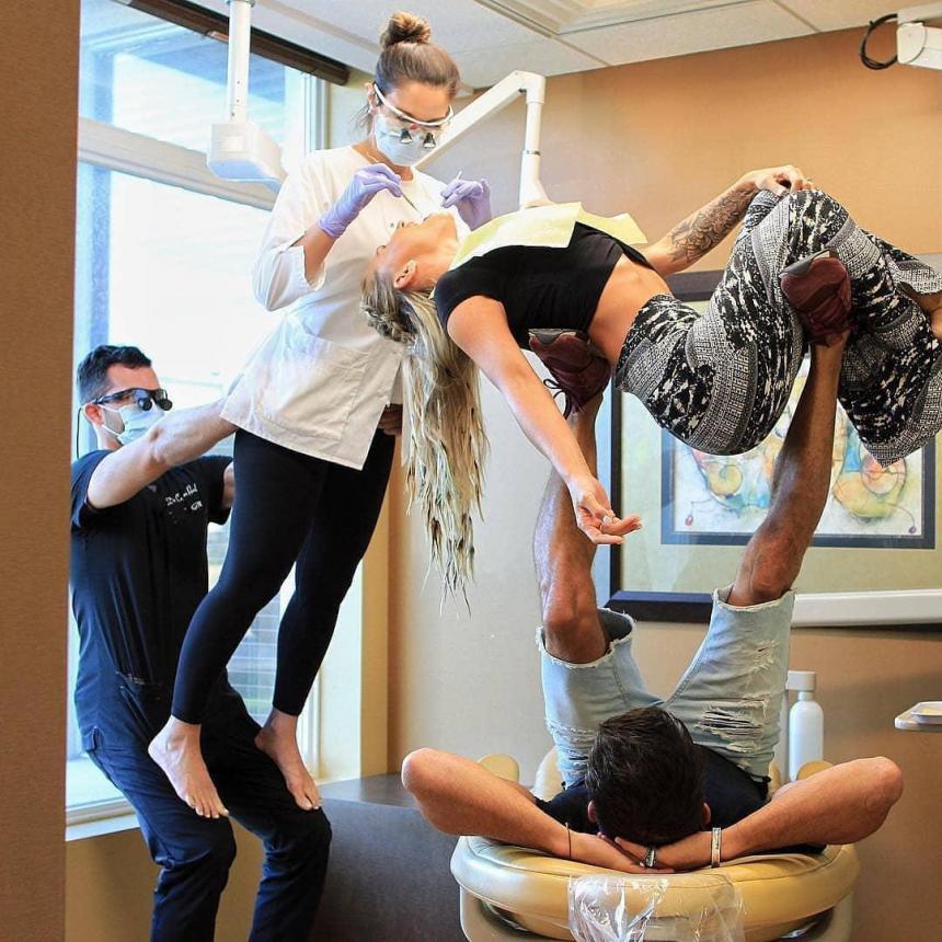 Эргономика в работе врача-стоматолога 3