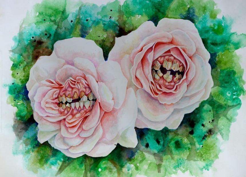 Зубная роза