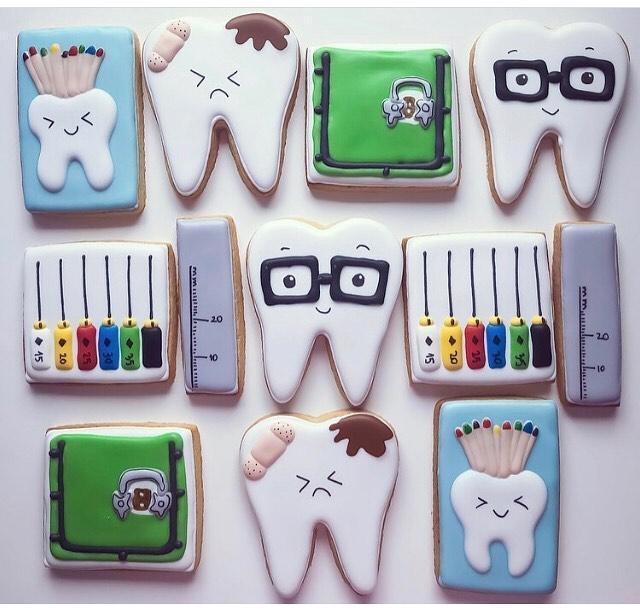 Печенье для стоматолога 58