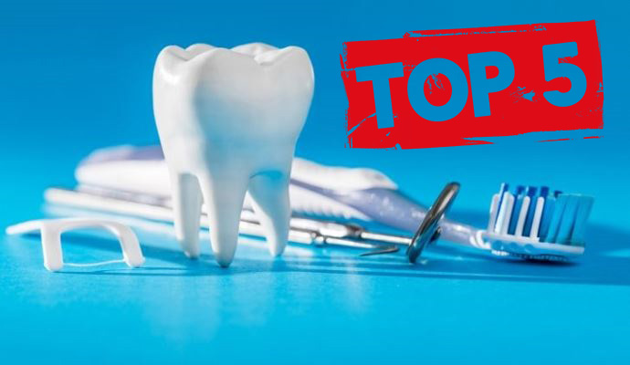 ТОП-5 статей по всем сферам стоматологии за 2019 год