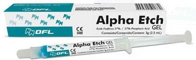 Протравливающий гель на основе 37% фосфорной кислоты Alpha Etch, DFL Industria e Comersio SA