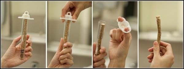 Зубная щетка-веточка