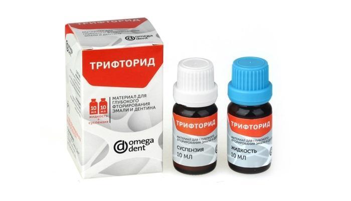 Фторирование зубов в условиях клинического приёма - «Трифторид» от «Омега Дент»