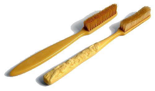 Древняя зубная щетка