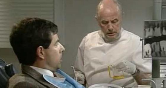 Мистер Бин на приеме у стоматолога