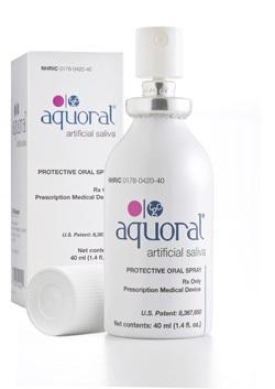 Новый спрей для устранения сухости в полости рта Aquaoral