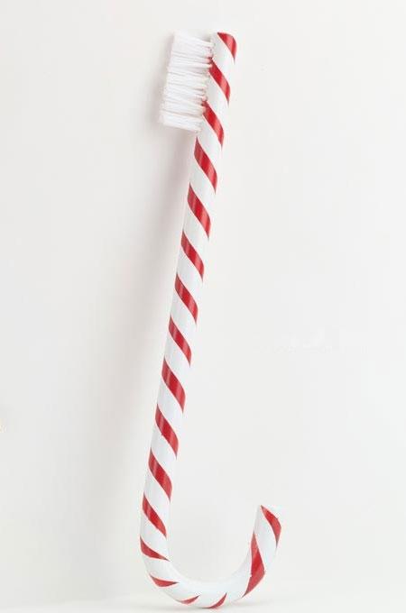 Рождественская зубная щетка