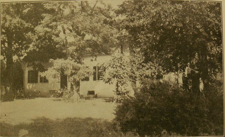 Дом, в котором юный Блэк жил вместе с родителями и братом
