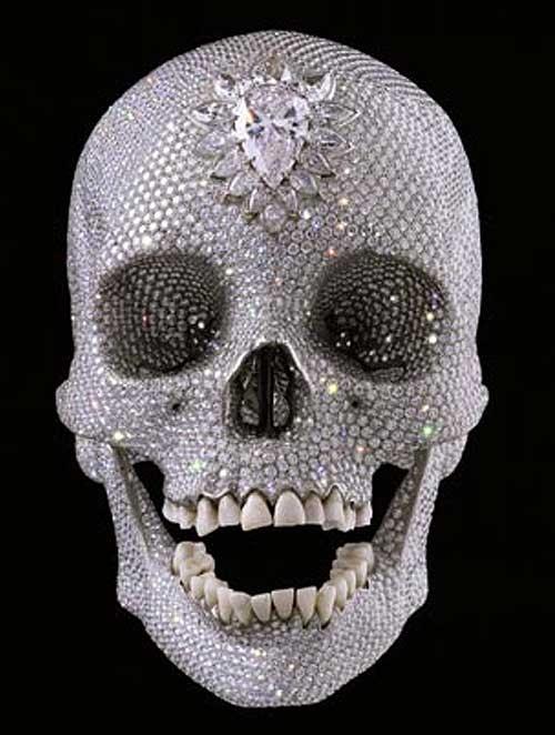 """Бриллиантовый череп """"За любовь Господа"""" (""""For the Love of God"""") стоимостью 100 миллионов долларов"""