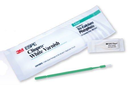 Clinpro Белый Лак с эксклюзивным компонентом трикальцийфосфатом