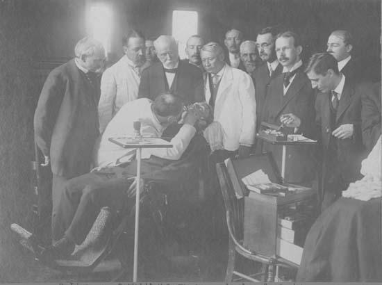 Г. В. Блэк и его коллеги (1912 г.)