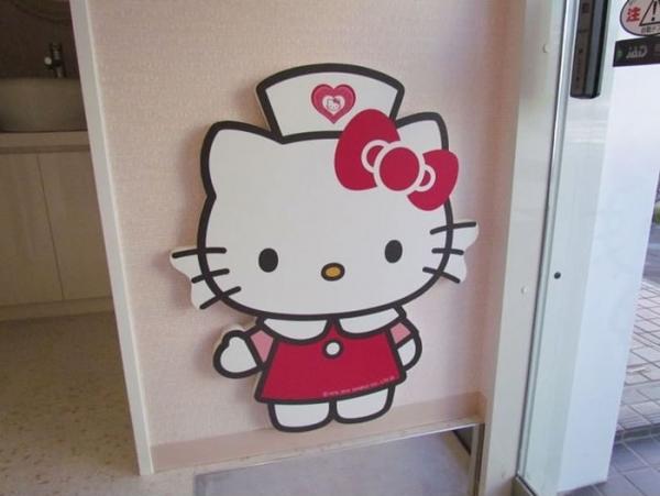 """Стоматологический кабинет в стиле """"Hello Kitty"""" (Япония)"""