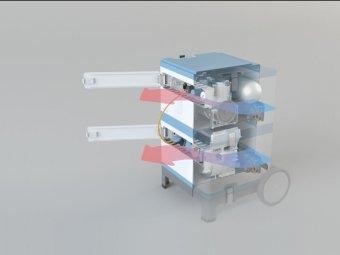 Концепт мобильного оборудования DENTASSIST для стоматологов - лечить зубы можно где угодно