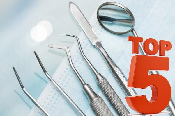 ТОП-5 статей по всем сферам стоматологии за 2018 год