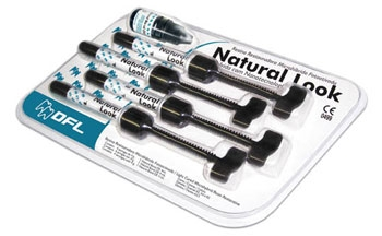 Стартовый набор наногибридного композита Natural Look с адгезивом Natural Bond DE, DFL Industria e Comersio SA