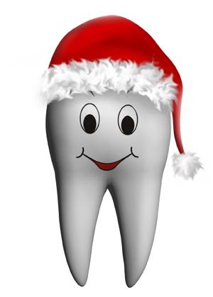 новый год, зуб, стоматология
