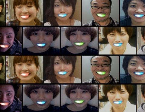 подсветка зубов
