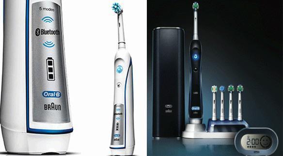 Электро зубная щетка oral b
