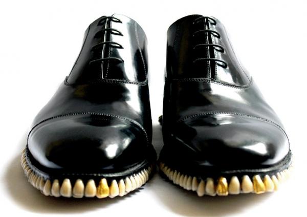 Туфли-зубфли - новый креатив от дизайнеров