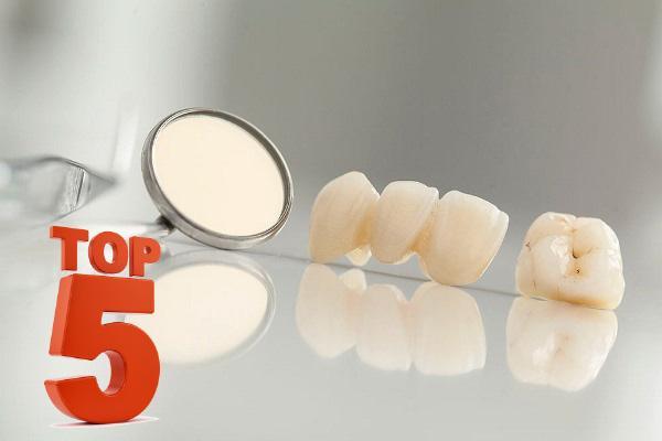 ТОП-5 статей по всем сферами стоматологии за 2017 год