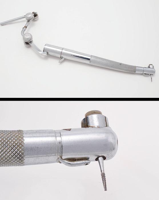 Угловой наконечник с кнопочным механизмом 1957г.