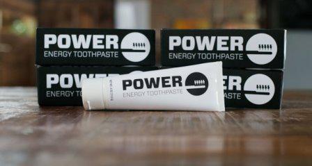 Power Toothpaste - зубная паста с содержанием кофеина, которая повышает бодрость с утра