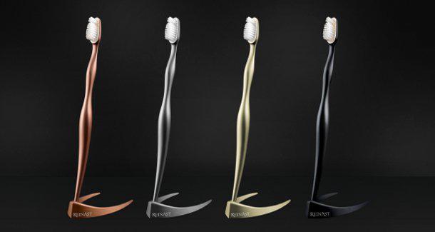Немецкие зубные щетки Reinast класса люкс за 3 200 евро