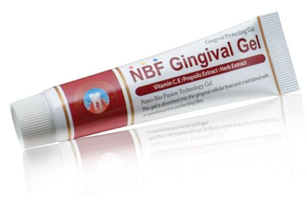 Мнение эксперта относительно защитного десённого геля NBF Gingival Gel (Корея)