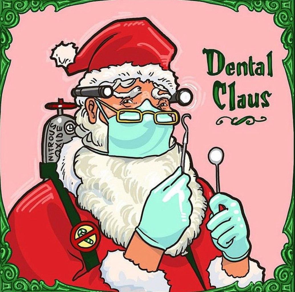 Новогодние пожелания стоматологам